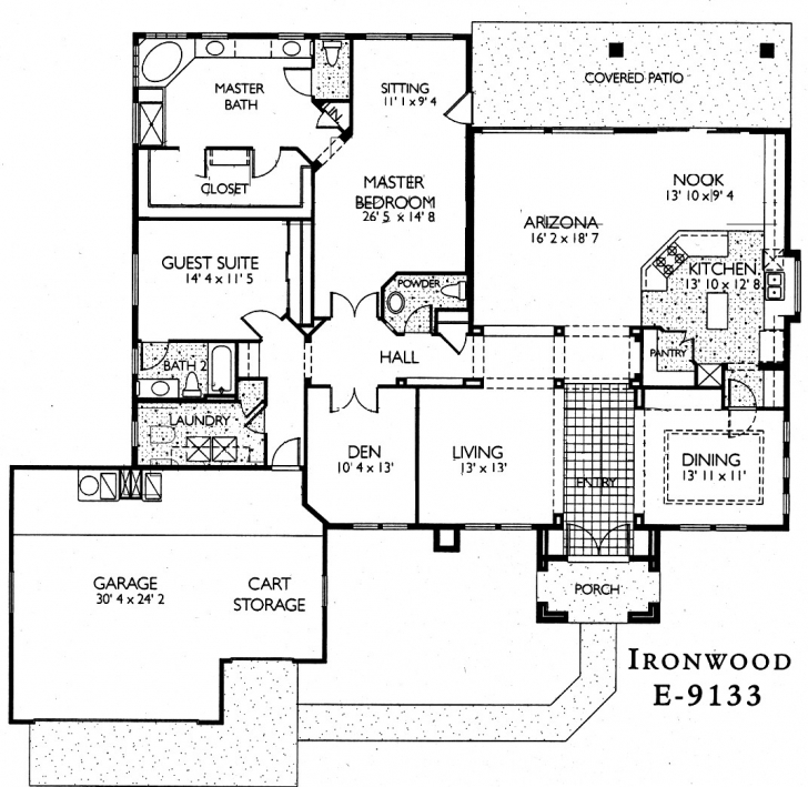 Fascinating Az House Plans Wonderful Inspiration 15 Sun City Grand Ironwood Sun City Grand Floor Plans Image