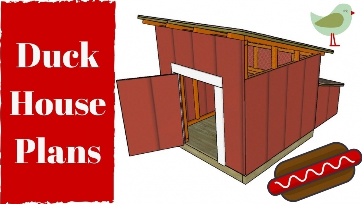 Fascinating Duck House Plans - Youtube Duck House Plans Picture
