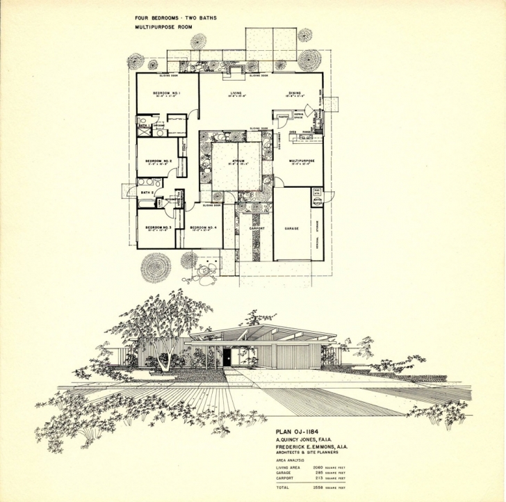 Fascinating Eichler Floor Plans-Fairhills - Eichlersocaleichlersocal Eichler Floor Plans Pic