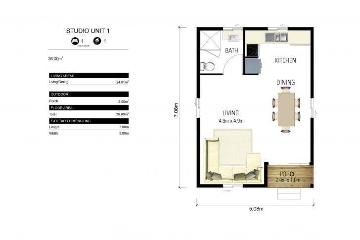Fascinating Granny Flats | Force 10 Granny Flat Floor Plans Picture
