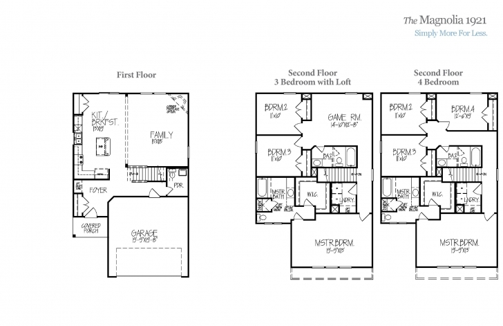 Fascinating Magnolia Homes Floor Plans | Interior Magnolia Homes Floor Plans Image