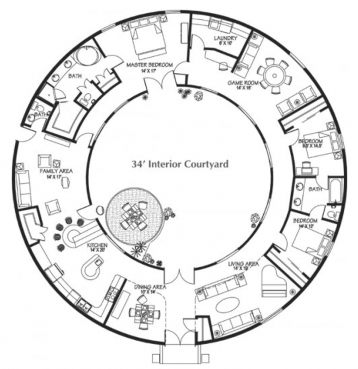 Fascinating Round House | Architecture | Pinterest | Round House, Rounding And House Round House Plans Picture