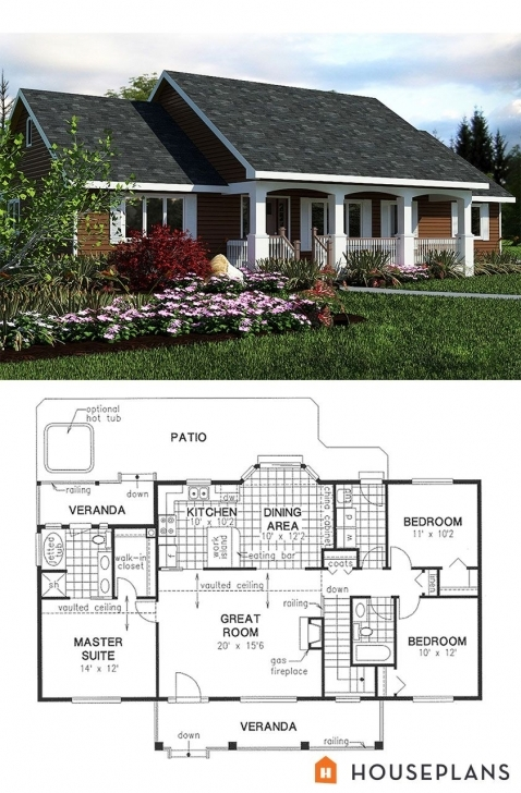 Fascinating Simple Country House Plan 1400Sft 3Bedroom 2 Bath House Plans Plan Small Simple House Plans Picture