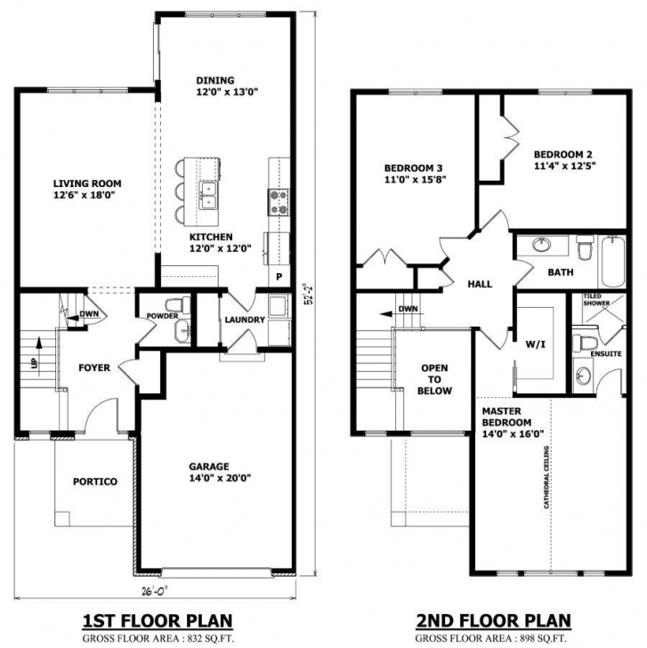 Fascinating Small 2 Story House Plans With Garage Awesome Askmrbike Wp Content 2 Story House Plans Pic