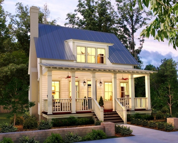 Fascinating Small Country House And Floor Plans Designs Images For With Charm 5 House Plans With Porch Picture
