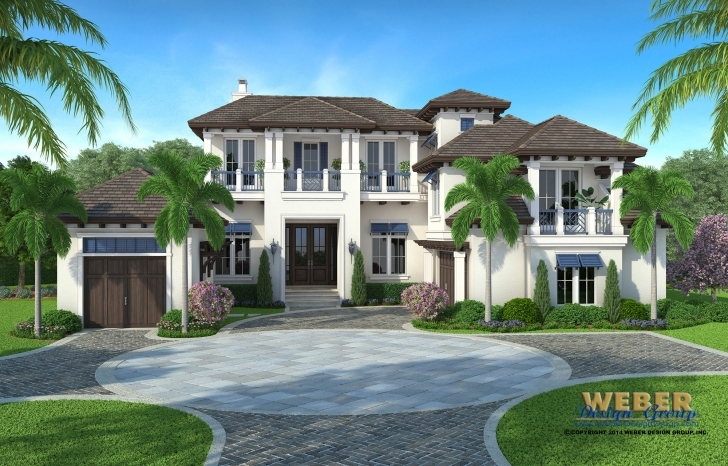 Fascinating Waterfront House Plans: All Styles Of Waterfront Home Floor Plans Waterfront House Plans Image