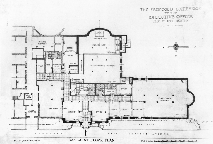 Fascinating West Wing - White House Museum White House Floor Plan West Wing Pic