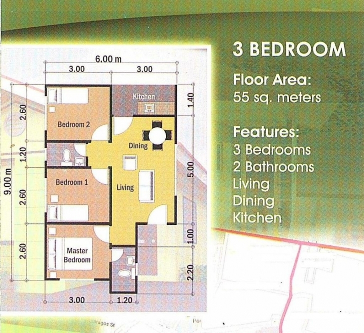 Good 120587+ 3 Bedroom House Designs And Floor Plans Philippines Floor House Designs Philippines With Floor Plans Pic
