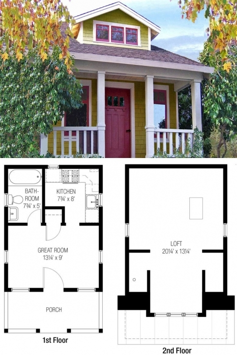 Good 27 Adorable Free Tiny House Floor Plans - Craft-Mart Tiny House House Plans Pic