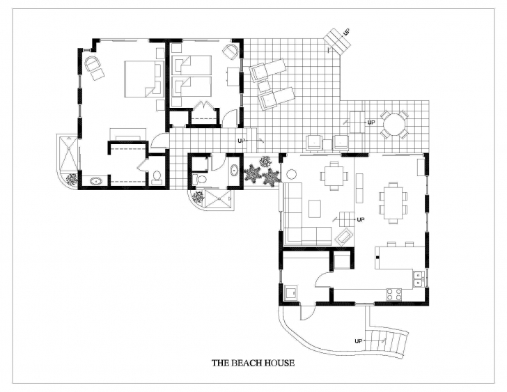 Good Beach House Floor Plans As Well As Smart Idea 10 Building Plans For Beach House Floor Plans Picture