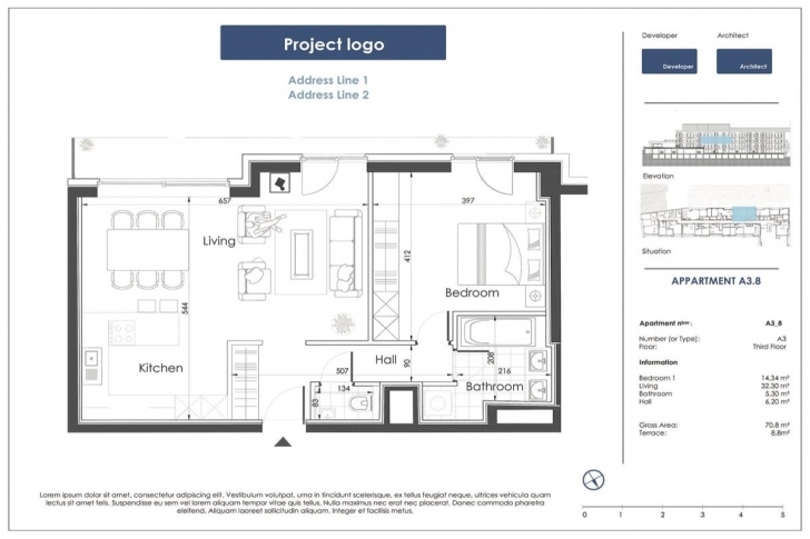 Good Beautifully Designed Commercial Floor Plans   Drawbotics Commercial Floor Plans Pic