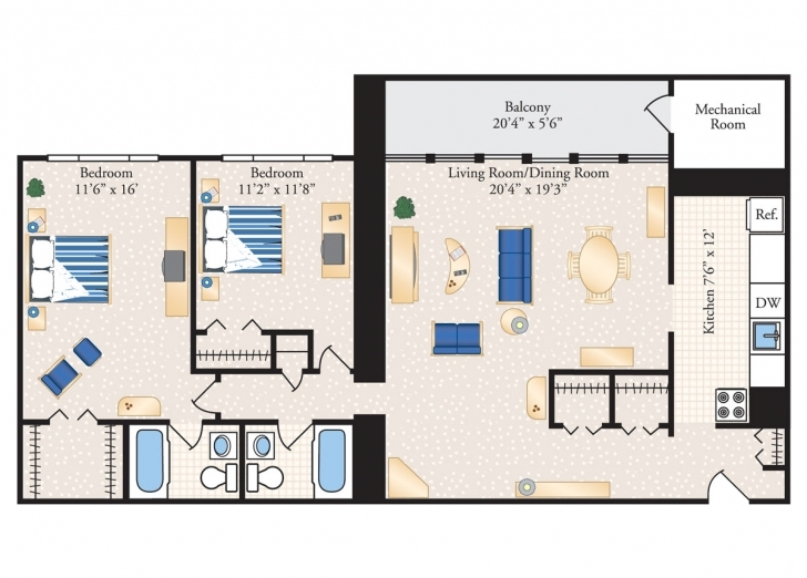 Good Floor Plans - The Metropolitan Metropolitan Condo Floor Plan Picture