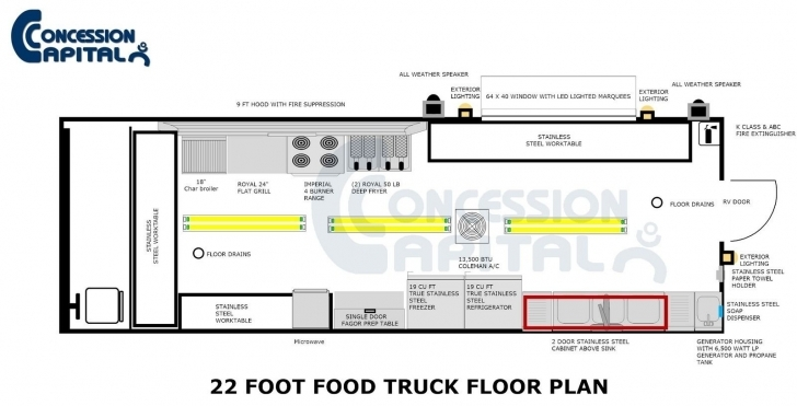 Good Floorplans | Food Trucks | Pinterest Food Truck Floor Plans Image