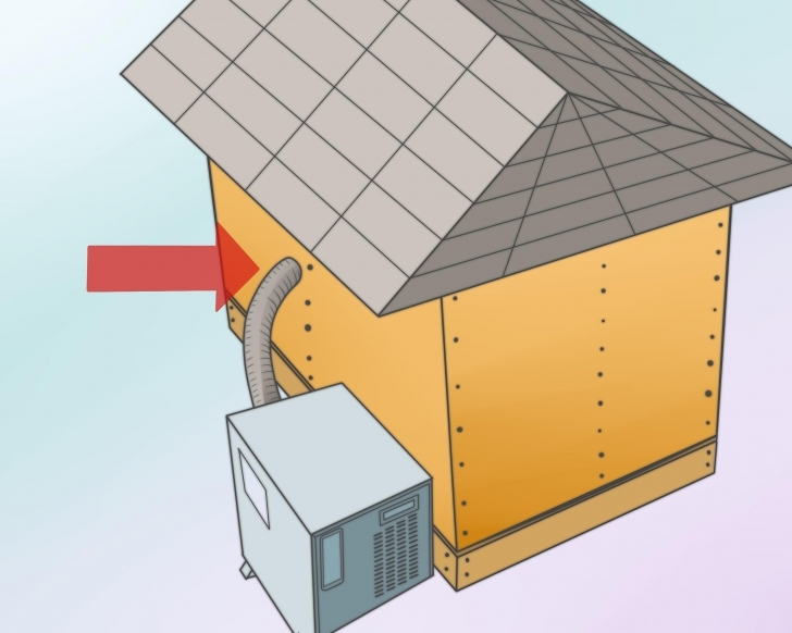 Good How To Build An Insulated Or Heated Doghouse: 10 Steps Insulated Dog House Plans Pic