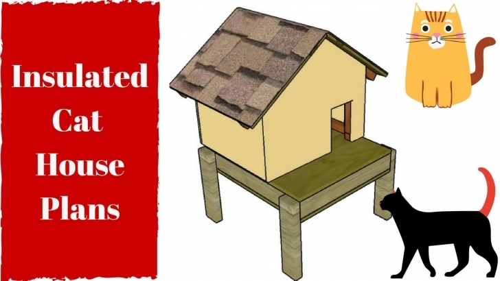 Good Insulated Cat House Plans - Youtube Cat House Plans Photo