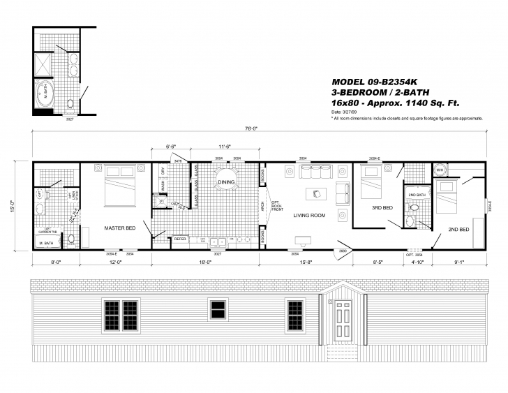 Amazing 16×80 Mobile Home Floor Plans Lovely Best 16×40 House Plans