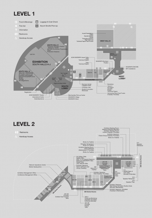 Good La Convention Center Map | Siggraph 2015 La Convention Center Floor Plan Photo