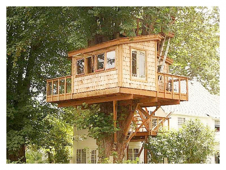 Good Livable Tree House Floor Plans New Free Treehouse Plans Two Story Tree House Plans Pic