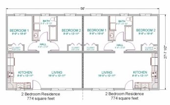 Good Simple Small House Floor Plans | Modular Duplex | Tlc Modular Homes Modular Duplex Floor Plans Picture