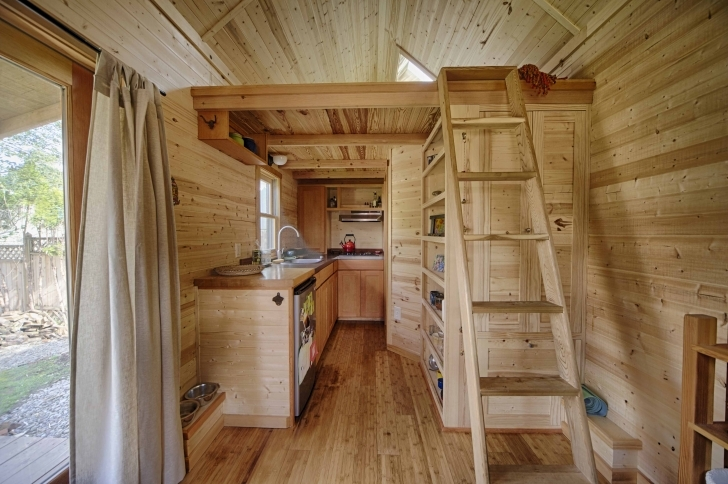 Good The Sweet Pea Tiny House Plans - Padtinyhouses Tiny House Plans With Loft Photo