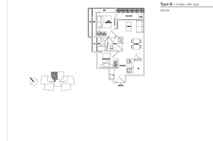 Gorgeous 2 Bedroom - Regent Residences Regent Residences Floor Plan Image