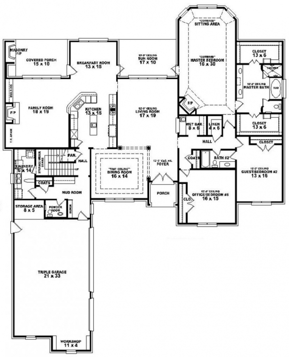 Gorgeous 3 Bedroom 2 Bath Floor Plans | Marceladick 3bed 2bath Floor Plans Picture