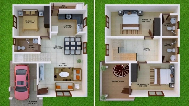 Gorgeous 600 Sq Ft House Plans 2 Bedroom Indian Style - Youtube 600 Sq Ft House Plans 2 Bedroom Picture