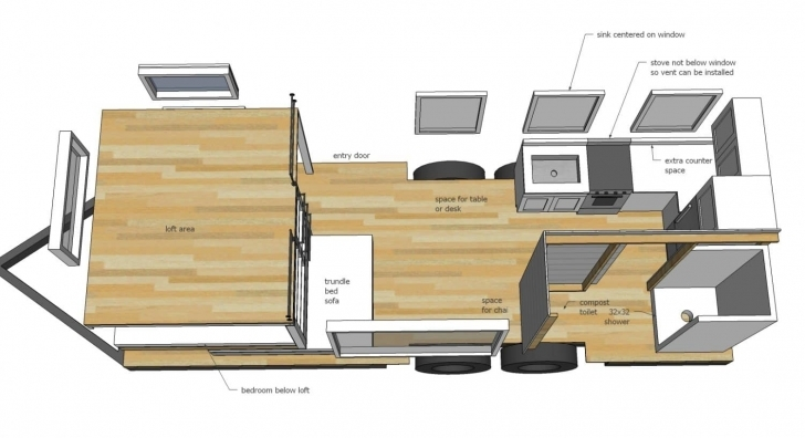 Gorgeous Construire Sa Propre Tiny House : Plans Gratuits Et, Modern Tiny Mini House Plans Photo