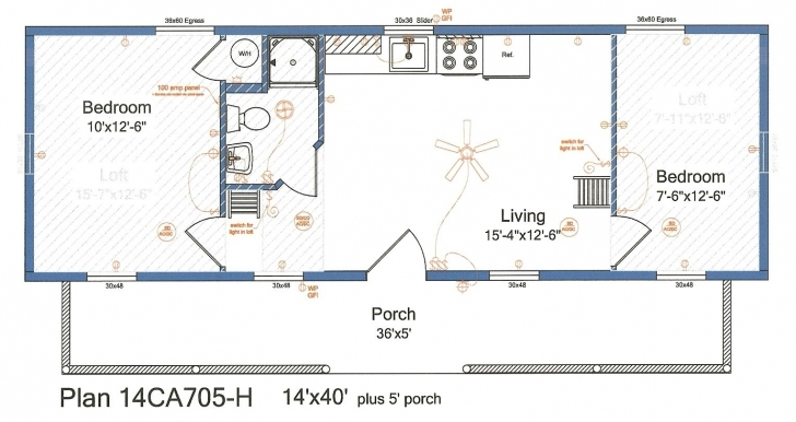 Gorgeous Pin By Dana On 16'x40' Cabin Floor Plans | Pinterest | Cabin Floor 14x40 Floor Plans Photo