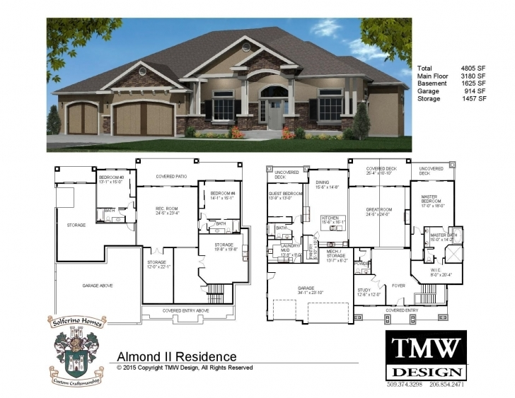 Gorgeous Rambler House Plans With Basement Mn | Http://dreamtree Rambler Floor Plans Picture
