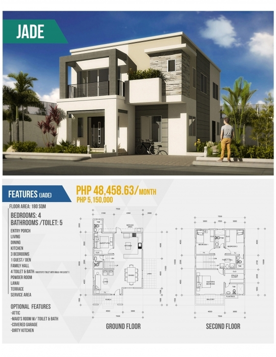 Gorgeous Simple 2 Storey House Design With Floor Plan Awesome 2 Storey House House Designs Philippines With Floor Plans Image