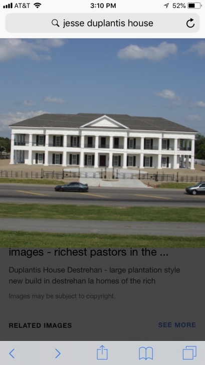 Gorgeous Two Pastors Talk About Their Travel Struggles. [Archive Jesse Duplantis House Destrehan Pic