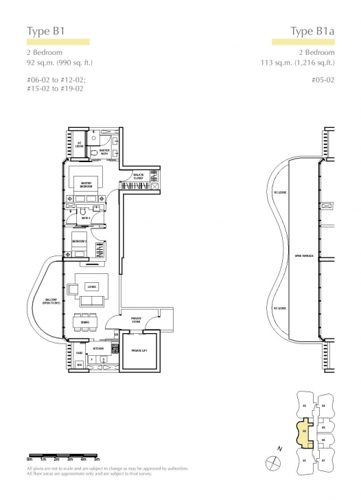 Great 2 Bedroom - Amber Skye Amber Skye Floor Plan Pic