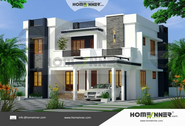 Great 4 Bedroom Contemporary Ultra Modern House Plans 1900 Sq Ft   Modern Ultra Modern House Plans Image