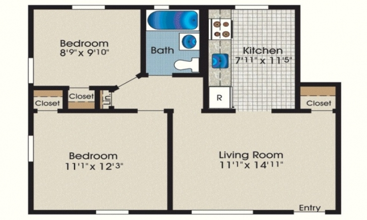 Great 600 Sq Ft House Plans 2 Bedroom Unusual Idea 1 Square Foot Apartment 600 Sq Ft House Plans 2 Bedroom Pic