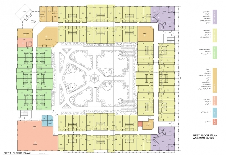 Great Assisted Living Floor Plans – Azar Development Llc Assisted Living Floor Plans Photo