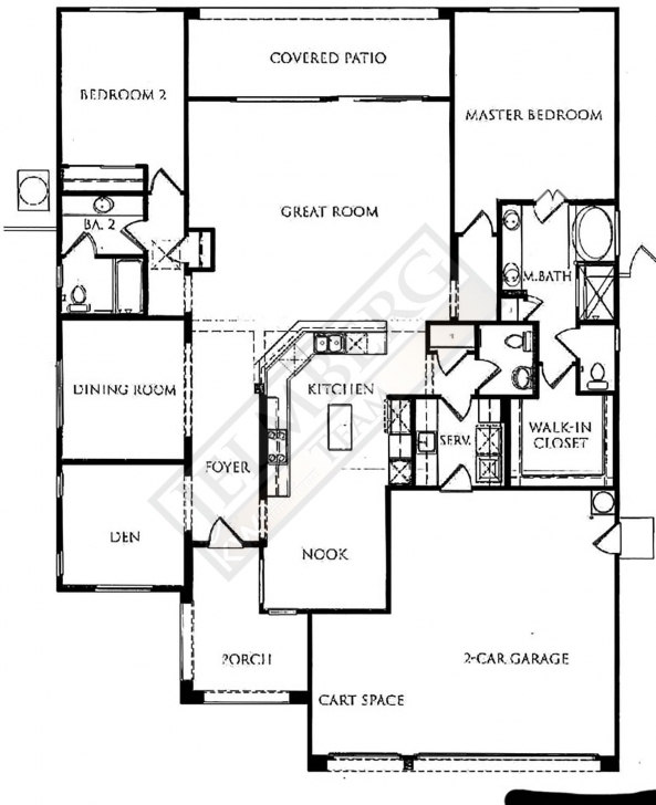 Great Castellano Model Floor Plan Sun City Shadow Hills | Coachella Valley Sun City Floor Plans Picture
