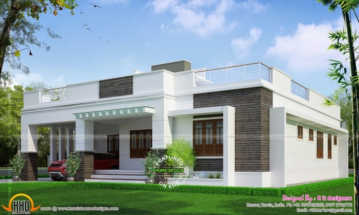 Great Elegant Single Floor House Design Kerala Home Plans Building Showy Single Floor Kerala House Plans Image
