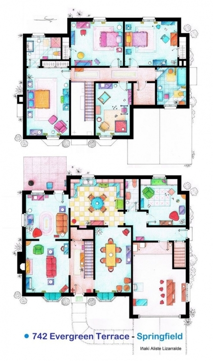 Great Family Guy House Layout Unique 22 Best Blueprints Of Imaginary Homes Family Guy House Floor Plan Pic