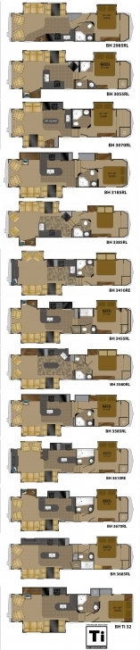 Great Heartland Bighorn Fifth Wheel Floorplans - Large Picture Bighorn Floor Plans Image