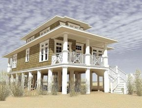 Great House Plans Built On Piers New Coastal Beach House Plans Pilings House Plans On Stilts Picture