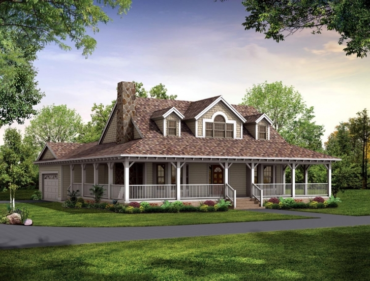 Great House Plans With Porch All The Way Around • Porches Ideas House Plans With Porch Pic