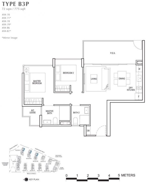 Great North Park Residences - Floor Plan North Park Residences Floor Plan Pic