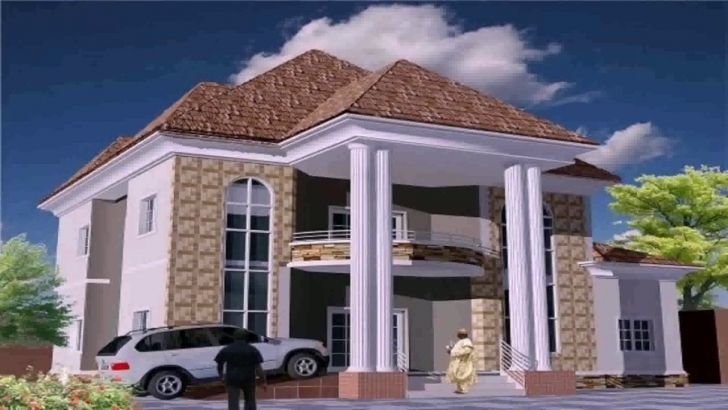 Great Residential House Plans In Nigeria - Youtube Nigerian House Plans Photo