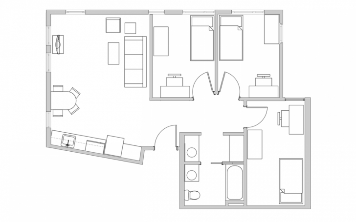 Great Unit Plans - The Metropolitan Metropolitan Condo Floor Plan Pic