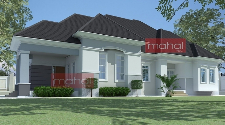 Image of 4 Bedroom Bungalow Plan In Nigeria 4 Bedroom Bungalow House Plans Nigerian House Plans Photo