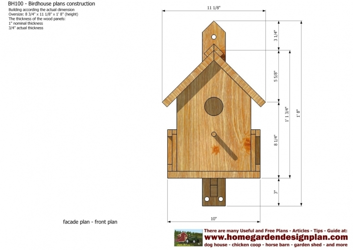 Image of Decorative Bird House Plans Awesome Free Birdhouse Plans For Bird House Plans Photo