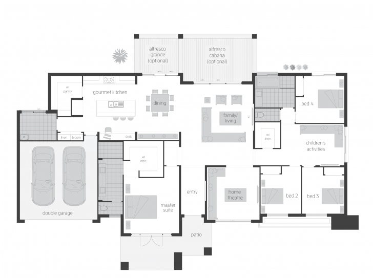 Image of Esperance - Floorplans | Mcdonald Jones Homes Homes Floor Plans Photo