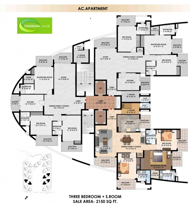 Image of Floor Plan - Suncity Projects Pvt. Ltd. - Suncity Parikrama Housing Sun City Floor Plans Pic