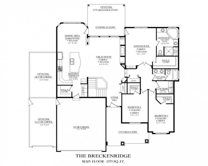 Image of Kitchen Floor Plans With Island And Walk In Pantry Awesome Exciting Kitchen Floor Plans With Island And Walk In Pantry Picture